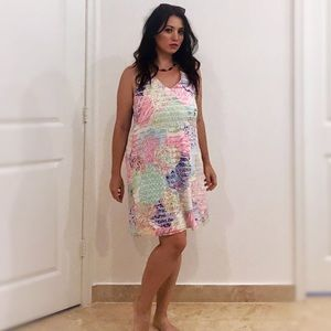 Lilly Pulitzer Colorful Sea Anemone Dress